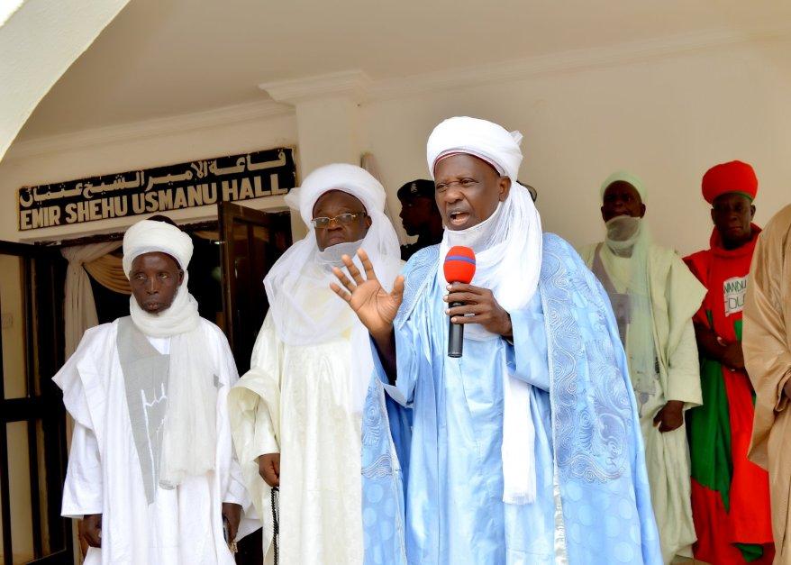 Emir of Gwandu addressing Alive for Tomorrow Initiative