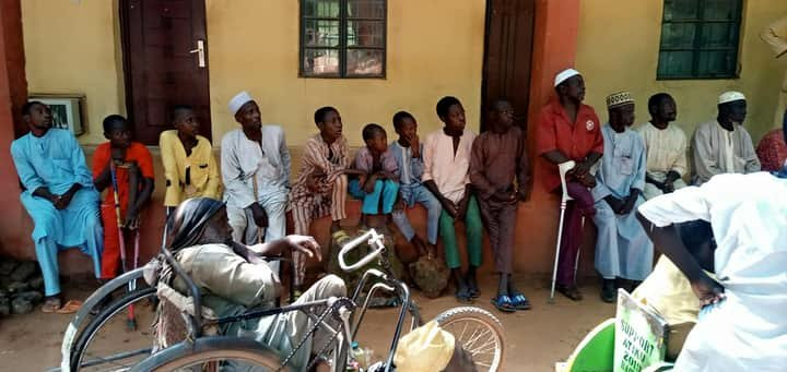 Eid al-Adha: Physically challenged persons laud Gov Bagudu, plegde unwavering support