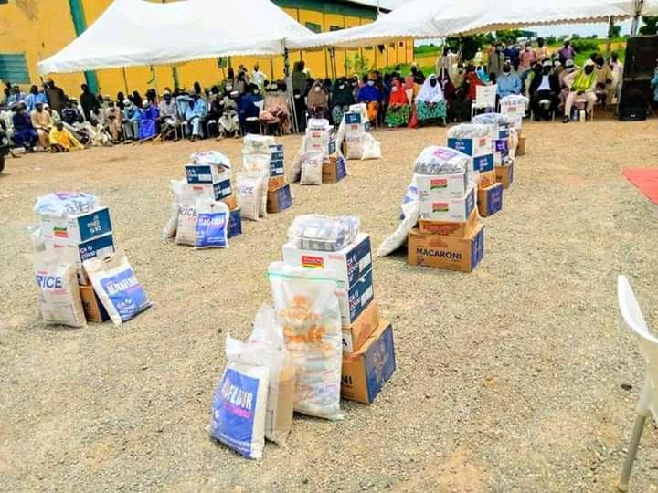 Kebbi Deputy Governor distributes food relief materials