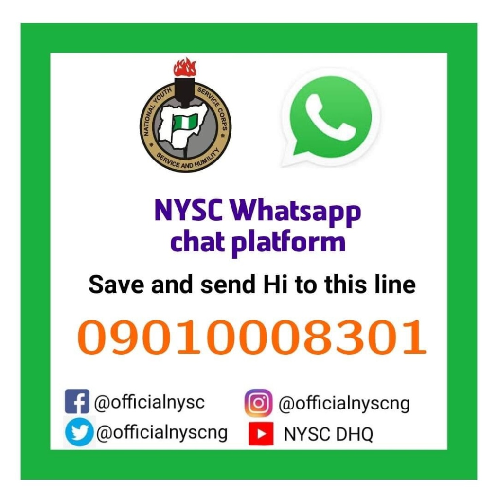 Corps Members have been advised to